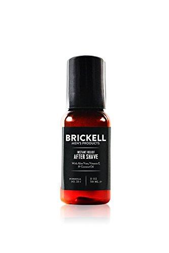 Brickell Men's Aftershave mit Sofortiger Linderung für Männer - Natürlich und Organisch - ohne Duftstoffe, 2 oz