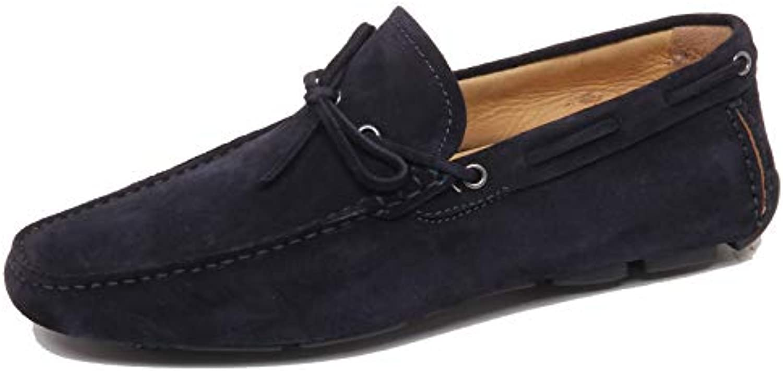 Altieri F4928 Mocassino Uomo blu blu blu Milano Scarpe Suede scarpe Loafer Man | La prima serie di specifiche complete per i clienti  cc5df8
