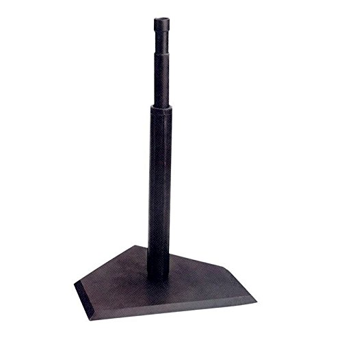 telescopic-baseball-batting-tee-black-rubber-45kg-the-easiest-way-to-get-your-baseball-swing-to-majo