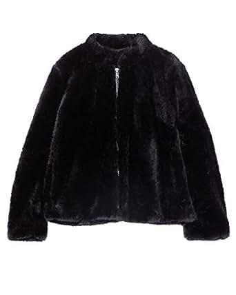 meistverkauft neue Sachen professionelle Website ZARA Damen Jacke aus kunstfell 1255/268: Amazon.de: Bekleidung