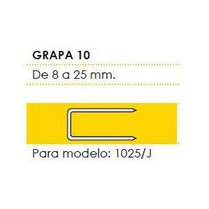 Cevik MCGR-1010 - Grapa 10 Largo 10 mm. Caja de 5 Millares