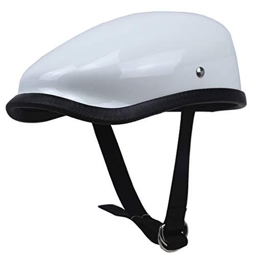 Stile giapponese retrò moto casco peso leggero in vetroresina mezzo caschi adulti comfort sicurezza Berets ciclismo casco 57-64cm stagioni universale