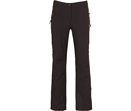 Bergson Damen Skihose Ice, Black [900], 36 - Damen