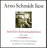 Arno Schmidt liest sämtliche Tonbandaufnahmen 1952 - 1964