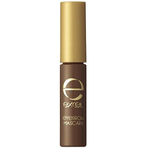 Excel Tokyo Make Up Eye Brow Mascara N - Chocolate Brown(Green Tea Set)