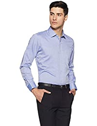Van Heusen Men's Solid Slim Fit Formal Shirt