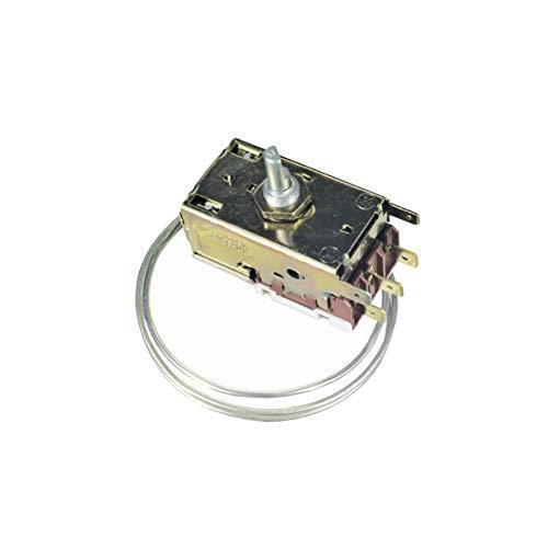 Thermostat Kühlthermostat Kühlschrank Kühlgerät mit eingeschäumtem Verdampfer Original Ranco K59-L2091 650mm Kapillarrohr 3x6,3mm AMP kompatibel mit Siltal Sogedis 61978