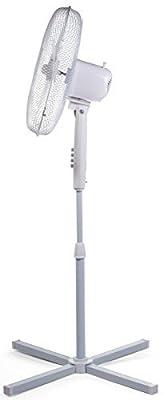 Floor Standing Igenix Pedestal Oscillating 3-Speed Fan with Mesh Safety Grill