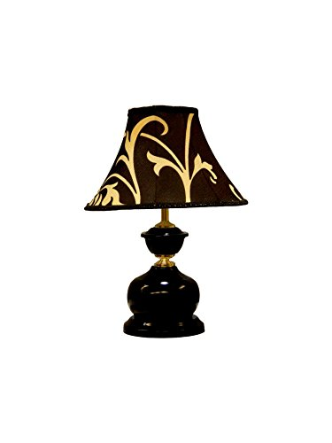 Tucasa LG-442 Polysilk Shade Table Lamp
