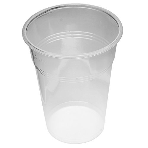 Lot de 800 fiches gobelet tasse 0,4 l transparent 400 ml avec schaumrand ausschankbecher gobelets jetable bIERE 33CL
