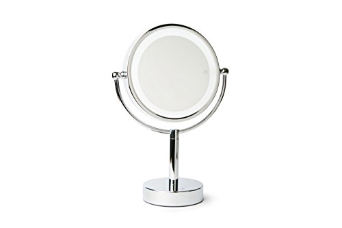 Vanity Planet Gleam, double face 1 x/7 x Miroir grossissant