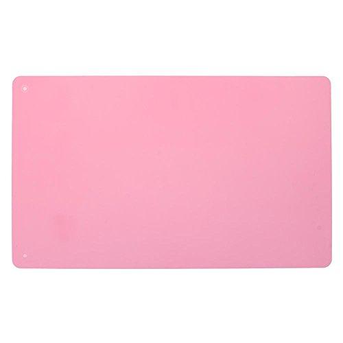 Ueb tovaglietta in silicone riutilizzabile tappetino isolamento termico antiscivolo tovaglietta per bambini tovaglietta da forno 36 x 22 cm (rosa)