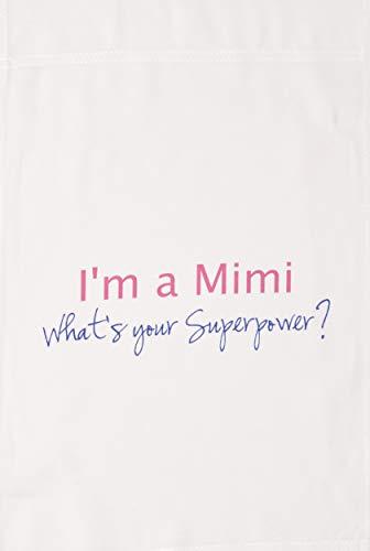 (3drose FL _ 193745_ 1I 'm a Mimi Whats Your Superpower Hot Pink Funny Geschenk für Oma Garten Flagge, 12von 18)