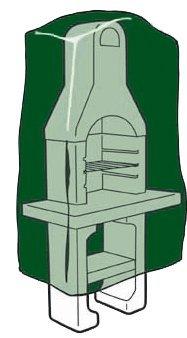 Biotop b2229–custodia in polietilene per barbecue alta