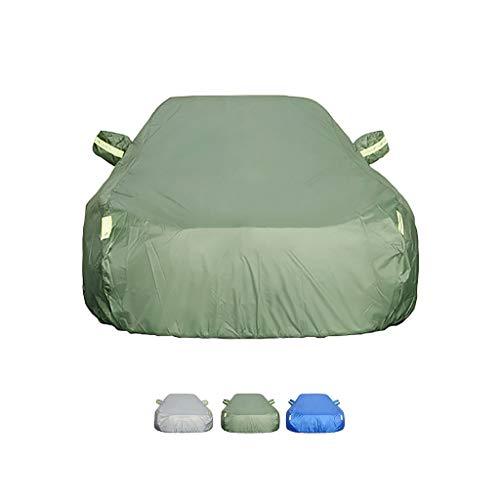 Guoguocy Kompatibel mit Autoabdeckung Opel Zafira, doppelseitige Limousinenabdeckung, universell voll wasserdicht und atmungsaktiv (Color : B, Size : 2006 1.8L MT)