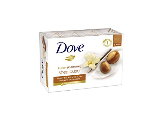 Dove Purely Pampering Vainilla soap bars (Pack of 6) 135g*6