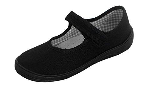 excelentes-zapatillas-de-lona-infantiles-ligeras-color-negro-para-el-colegio-315-eu-nino-black-with-
