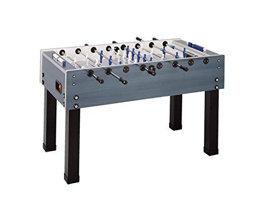 Garlando Unisex's G-500 Weatherproof Football Table, Blue, One Size