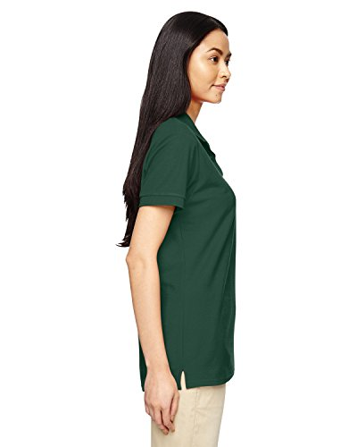 DryBlendTM piqué da donna a maglietta Verde foresta