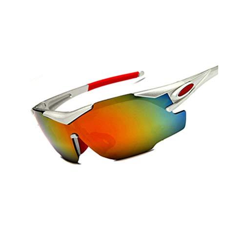 Unisex Motorrad Radsportbrille UV-Schutz Winddicht Staubdicht Sanddicht Spritzwassergeschützte Vogue-Schutzbrille Outdoor-Sportarten Zum Laufen Fahren