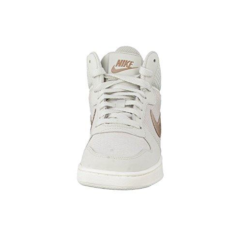 Nike Damen 844907-003 Turnschuhe LIGHT BONE/MTLC RED BRONZE-SAIL