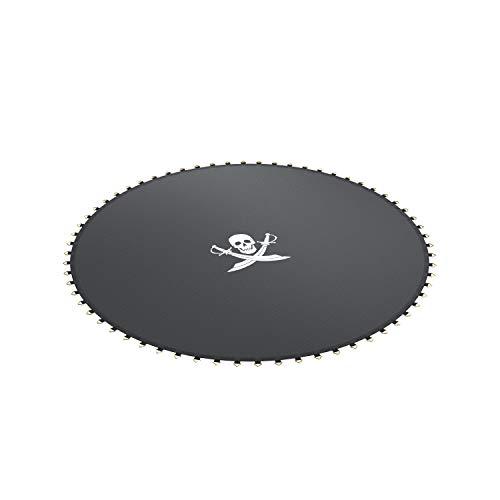 Ampel 24, Lona de Salto de reemplazo para Cama elástica con diametro de 305 cm | 64 Ojales | Costura décupla | Resistente | Motivo Pirata | Carga MAX 150kg