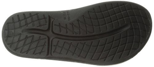 OOFOS Ooriginal Thong, Sandales de Sport Femme Noir (Black)