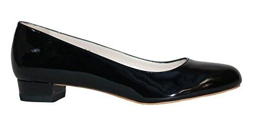 MUGA  1272-SW, Ballerines pour femme Noir Noir 36 Schwarz