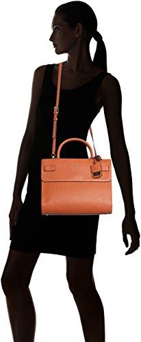 Guess Damen Cate Satchel Handtaschen, Einheitsgröße Mehrfarbig (Spice)
