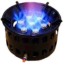 Hornillo Acampada Gas Estufa Cocina Portátil a Gas Butano Equipo De Cocina Bolsillo Estufa Portátil Soporte