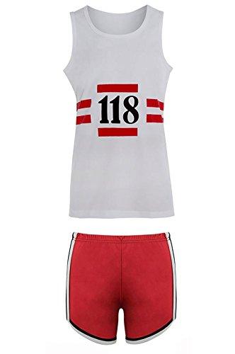Novelty Junggesellenabschied, Damen, Marathon, Junggesellinnenabschied, Kurzstrümpfe, Kostüm, Kostüme Gr. L, Mens Vest + Shorts ()