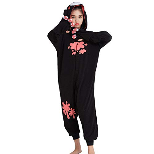 YLOVOW Weihnachten Unisex-Strampler Kigurumi Kostüme Pyjamas, Adult Animal Cosplay Halloween Homewear,XL