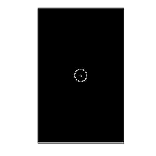 Jinvoo Smart Wi-Fi Touch Lampada da parete Pannello US 1 interruttore orario intelligente, può essere utilizzato con Alexa Echo e Google Assistant, Powered by Tuya, Smart Life