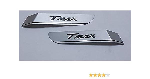 Coppia Targhette laterali in alluminio anodizzato X Tmax 530 T max 2017-2019