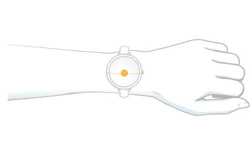 FESTINA F16394-1 - Reloj de mujer de cuarzo, correa de caucho color blanco