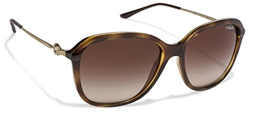 Vogue-0VO5146W6561358 Brown Oval Sunglass For Women