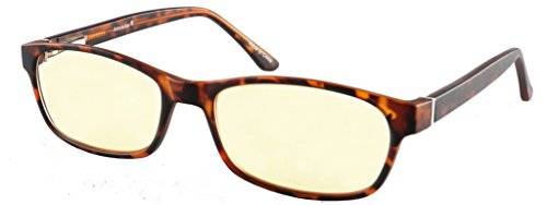 amcedar Computer Glasses Frauen flexibel Material Rahmen quadratisch Metall Spring Scharniere blockierender reduziert Bildschirm blau Licht und Blendendes Licht UV-Schutz inklusive Etui Brillen