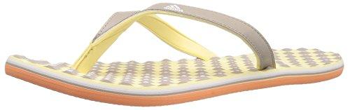 adidas Frauen Flip Flops Gelb Groesse 5 US /35.5 EU