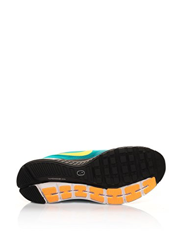 Nike  Zoom Structure+ 17, Chaussures de running homme Multicolore - Verde / Naranja / Amarillo (Trb Grn / Lt Crmsn-Atmc Mng-Blk-)