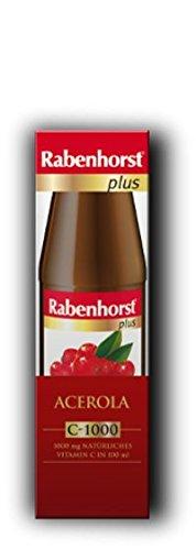 Rabenhorst Acerola Plus C 1000 Saft Ungesüßt, 450 ml