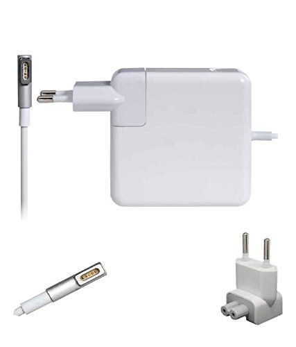FUGEN 60w 16.5v 3.65a L Pin Magsafe AC Adapter Charger for Apple Air Pro A1278 A1181 A1172 A1184 A1185 A1344