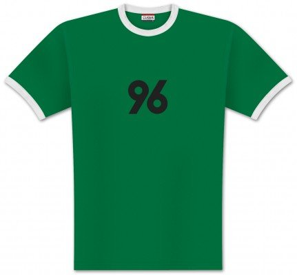 World of Football Ringer T-Shirt Front 96 - M