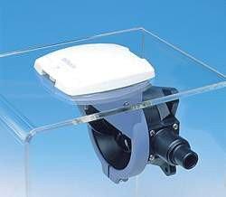 Lindemann Sanitäranlagen und Pumpen Deckplatte Weiß Whale/Henderson ohne Deckel, 59380