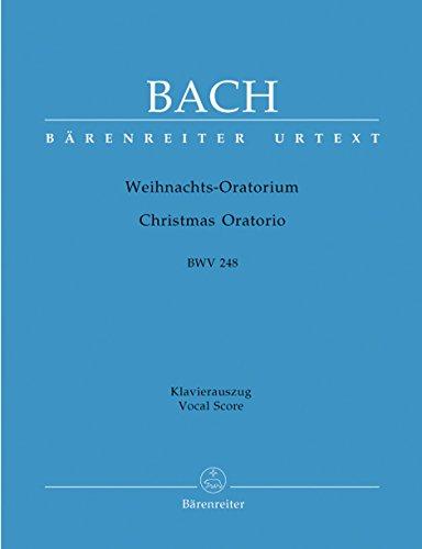 Weihnachtsoratorium BWV 248. Klavierauszug/Vocale Score
