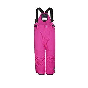Killtec  Mädchen Jordy Mini Skihose / Funktionshose mit Trägern und Schneefang,neon pink,98/104