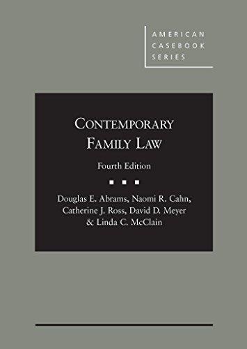 Contemporary Family Law (American Casebook Series) by Douglas Abrams (2015-09-29)