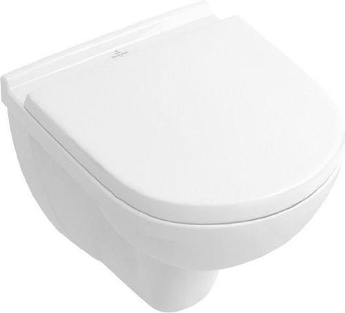 Villeroy & Boch Tiefspül-WC compact O.novo 360x490mm wandhängend Weiß