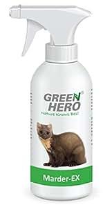 green hero marder ex spray gegen marderverbiss 500 ml fernhaltemittel gegen marder f r das. Black Bedroom Furniture Sets. Home Design Ideas