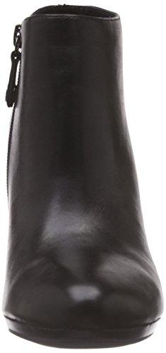 Geox D Kali E-Vit, Bottines femme Noir (Black)