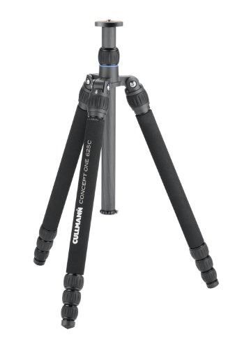 cullmann-concept-one-625c-tripode-de-carbono-sin-cabezal-tamano-plegado-44-cm-4-piezas-color-negro